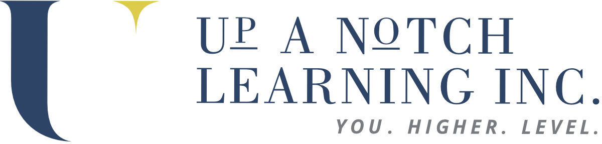 Up A Notch Learning Logo