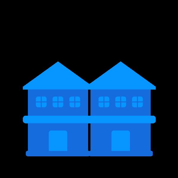 row houses icon